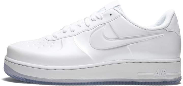 detailed look 2a90d f555c Nike AF1 Foamposite Pro Cup White/White in 2019 | School ...