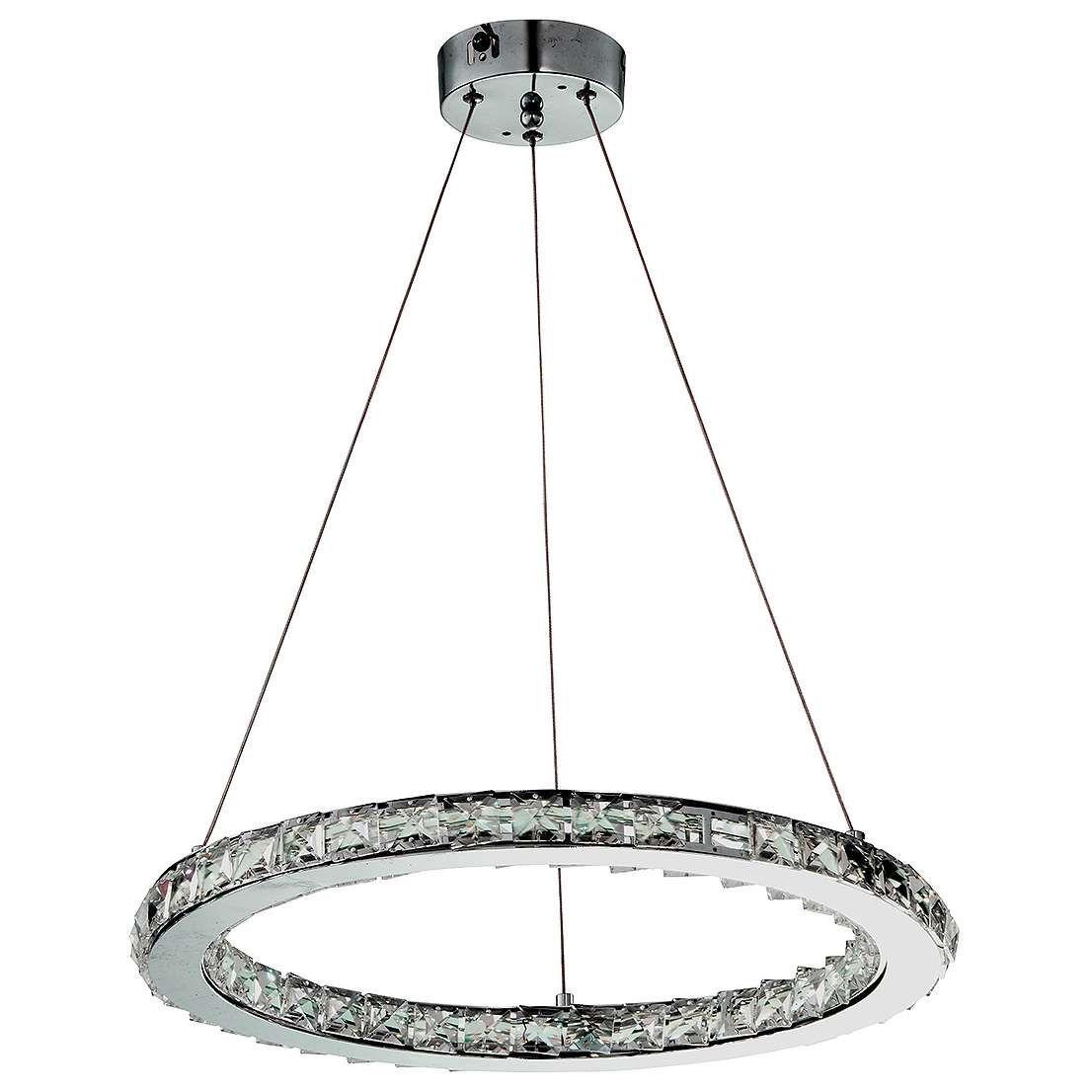 Mlamp oświetlenie wisząca lampa nowoczesna glamour wystrój wnętrz zwis salon kryształki