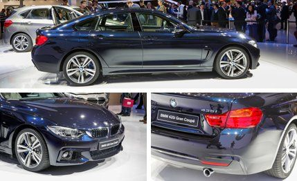 BMW Series Gran Coupe Side Exterior Cars Pinterest BMW - 2014 bmw 4 series gran coupe price