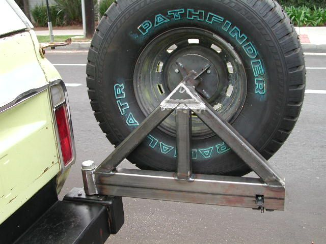 Tire Holder On Truck Rear Bumper Location Petrolia Ontario