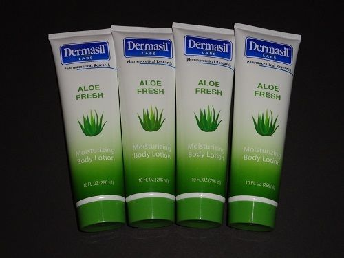 Dermasil Moisturizing Body Lotion Aloe Fresh 10 Fl Oz 4 Pack