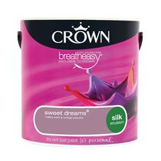 Crown Silk Emulsion Paint                         Sweet Dreams 2.5L