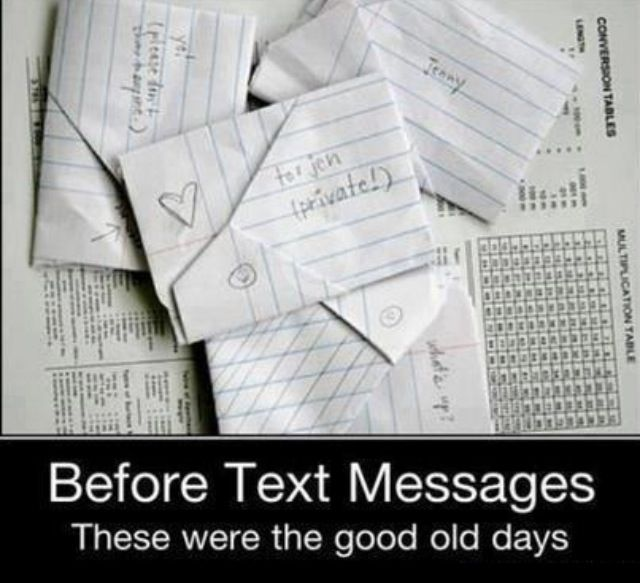 I so loved writing notes in class for friends and boys! Still remember how to fold them this way too. :)