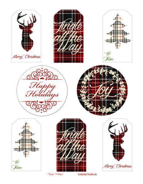 Free printable plaid holiday gift tags holiday gift tags free free printable holiday gift tags christmas plaid edition negle Gallery