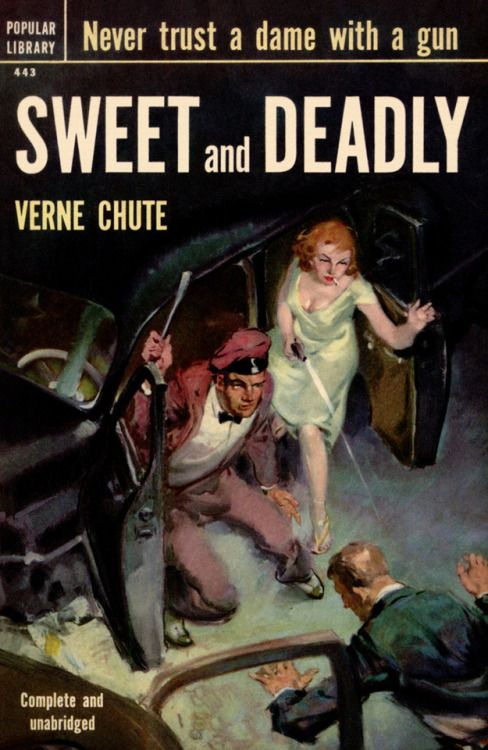 Image result for sweet and deadly pulp cover