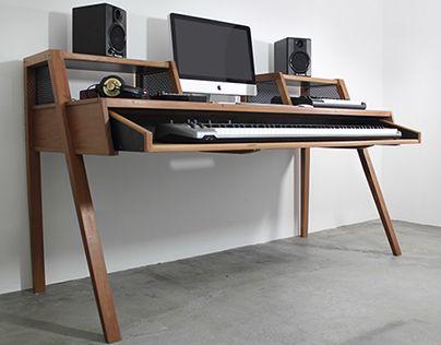 Merveilleux Check Out This @Behance Project: U201cHome Studio // Desku201d  Https://www.behance.net/gallery/18806663/Home Studio Desk
