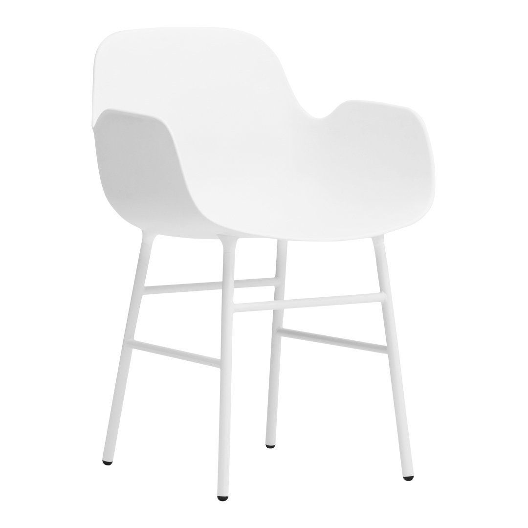 Photo of Form Armchair – Metal Legs