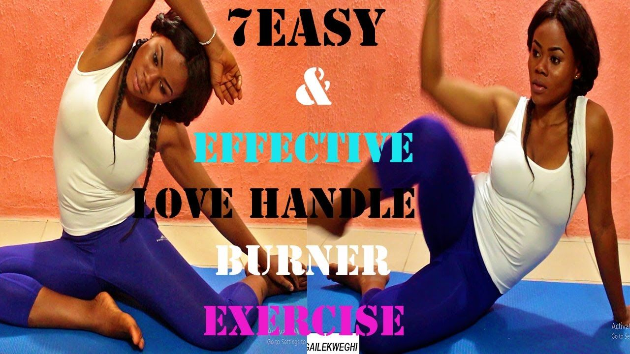 How to get rid of love handles fast   easy exercises to get rid of