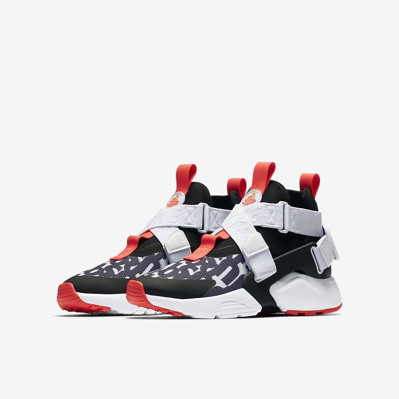 33a2917a2898 Nike Huarache City JDI Premium Big Kids  (Boys ) Shoe