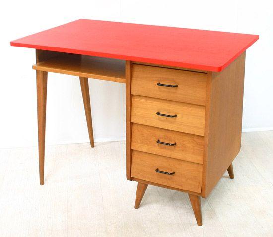 Ancien bureau annes 50 Bianca and Family work desk
