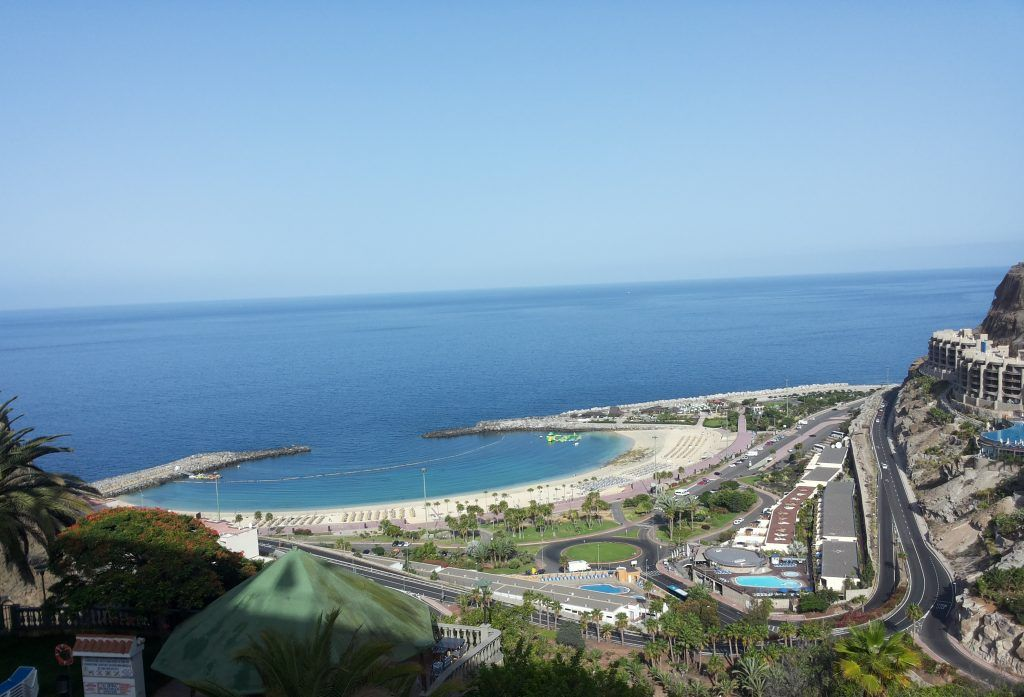 Playa De Amadores Gran Canaria Spain Spain