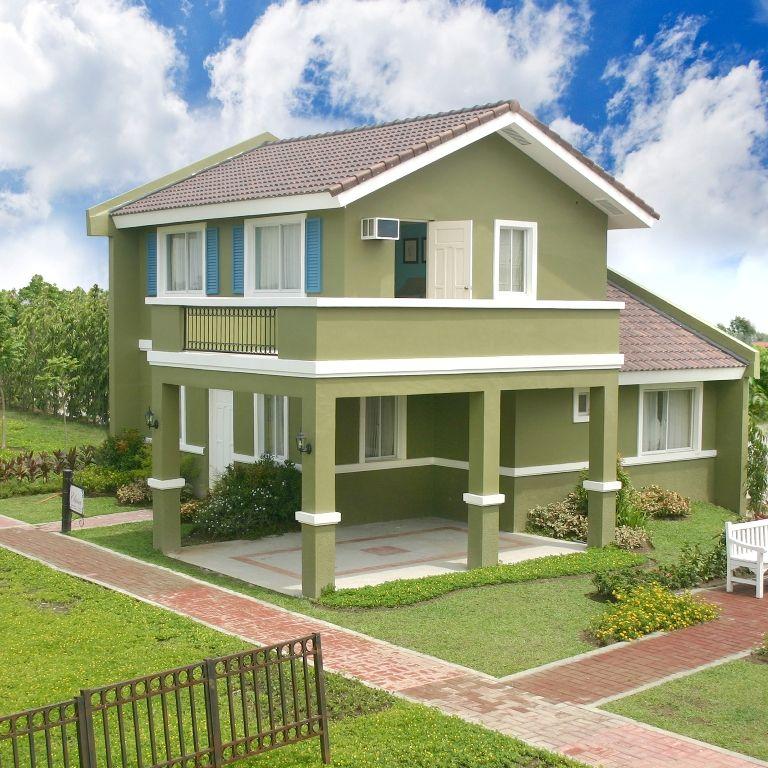 Elaisa House Model Of Camella Provence House Design House