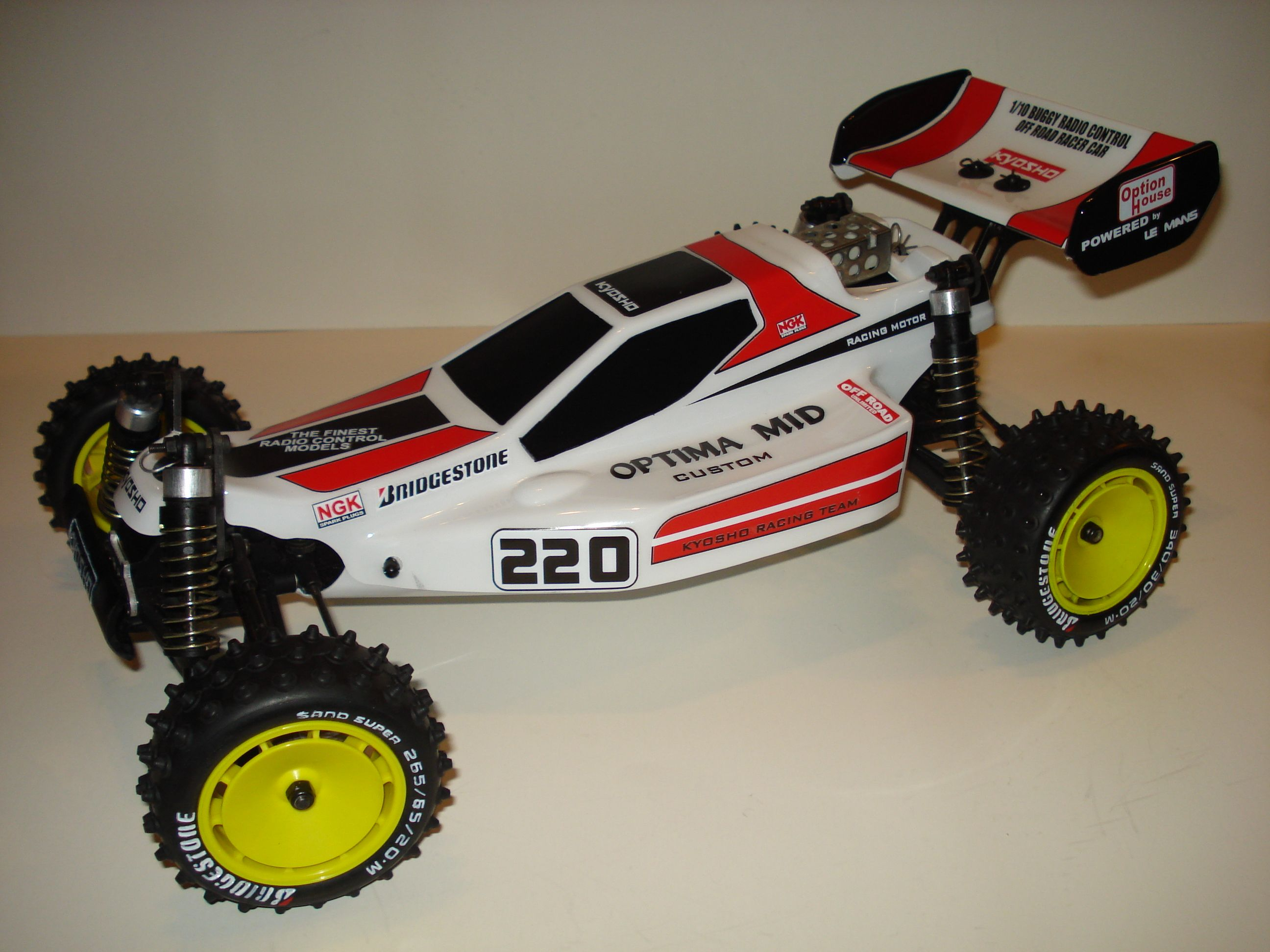 Kyosho Optima Mid Custom 1989 radiocontrol