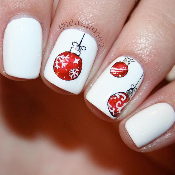 popular ideas of christmas nails designs to try in 2017 see more httpsnaildesignsjournalcomchristmas nails designs nails