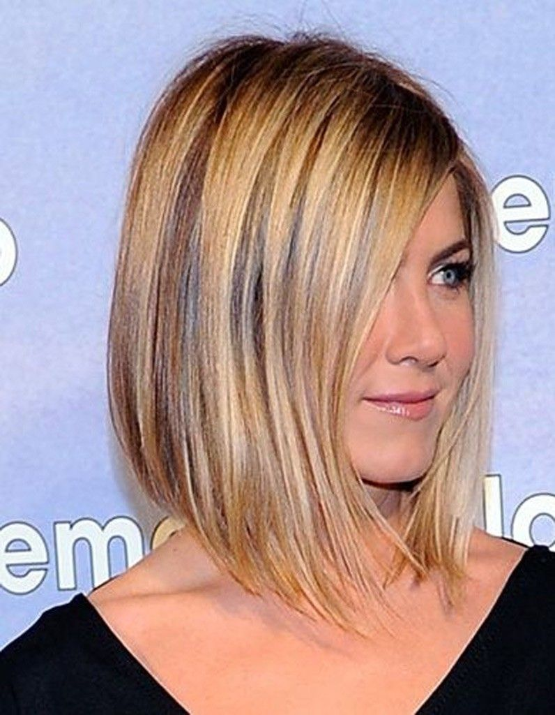 Carré Plongeant Reflets Blonds Pelo Coupe Cheveux Mi
