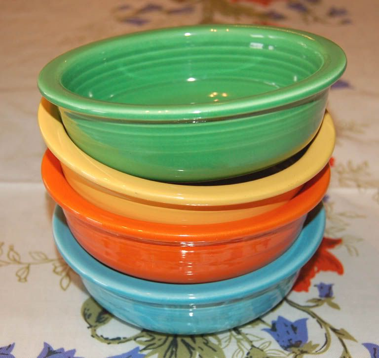 Vintage Fiestaware In The 60 S Colors My Grandmother Had A Set Of