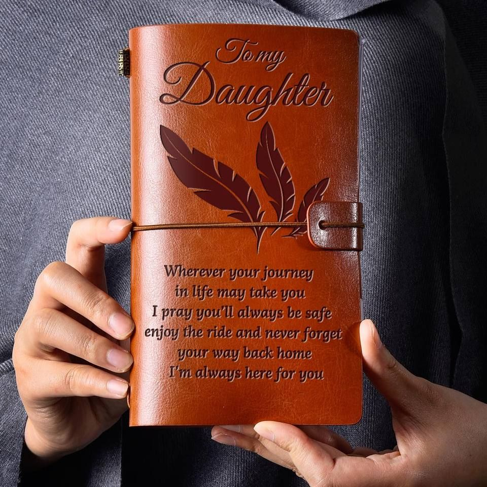 Vintage Engraved Journal Happy Covers In 2020 Always Here For You Leather Journal Beautiful Journals