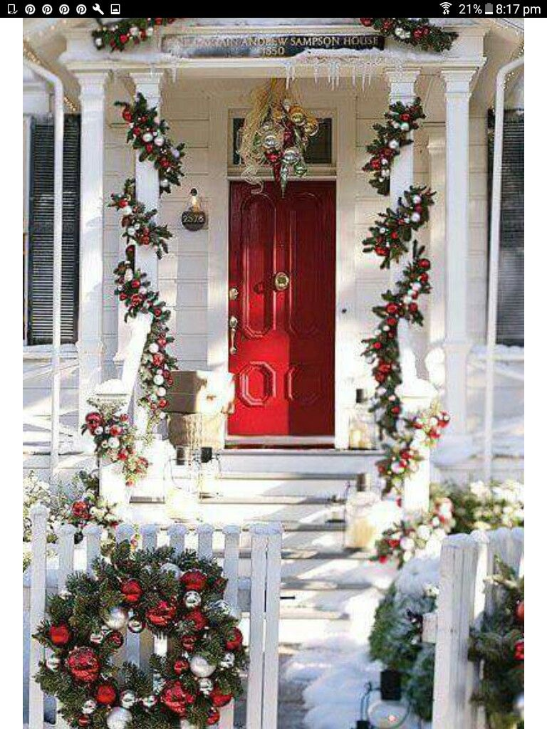 Winter Things Winter Decorations Outdoor Christmas Christmas