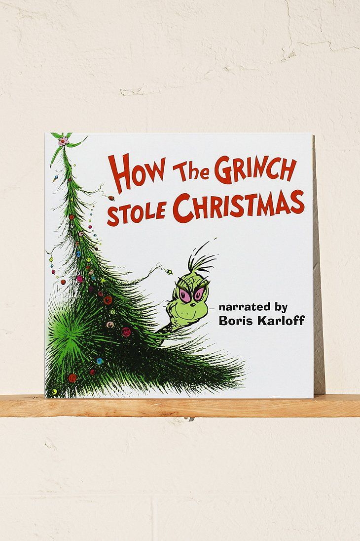 Various Artists - Dr. Seuss\' How The Grinch Stole Christmas Original ...