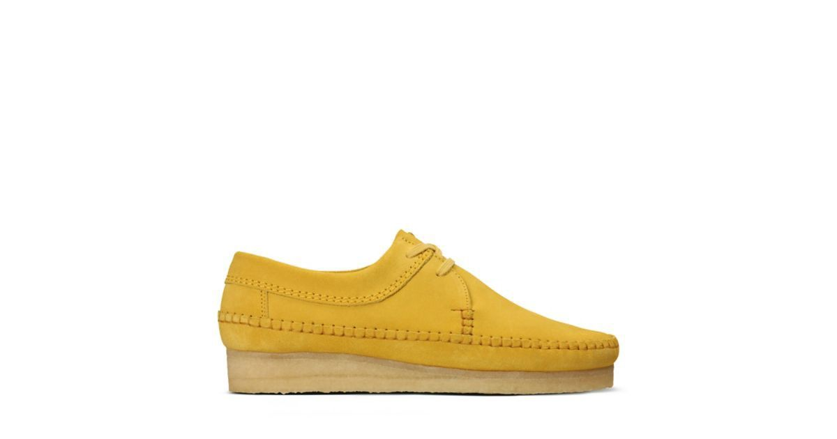 clarks originals Weaver Pale WOMENS YELLOW bei