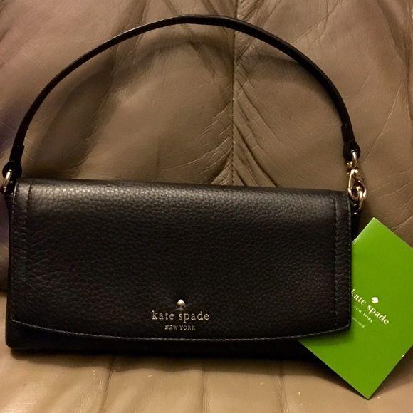 NWT Kate Spade wristlet/mini handbag Cobble Hill Niccola with magnetic enclosure.  Retails at $148 kate spade Bags Clutches & Wristlets