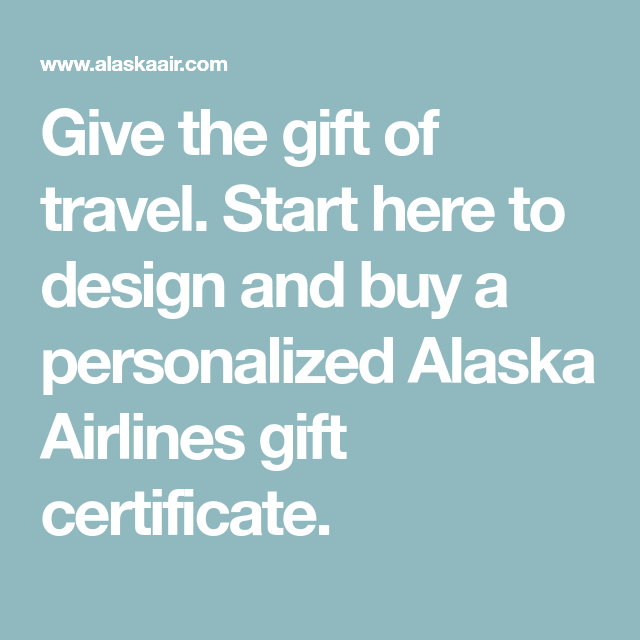 Give The Gift Of Travel Start Here To Design And Buy A
