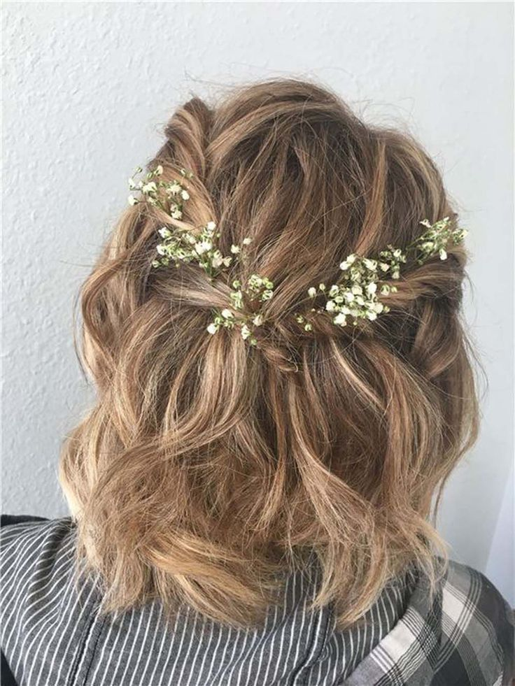 Prom Hairstyles For Short Hair in 2020 | Prom hairstyles for short hair, Hair styles, Formal hairstyles for short hair