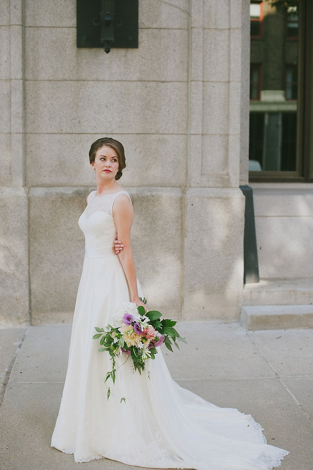 Classic Omaha Wedding Featured On Midwest Bride Wedding Dresses