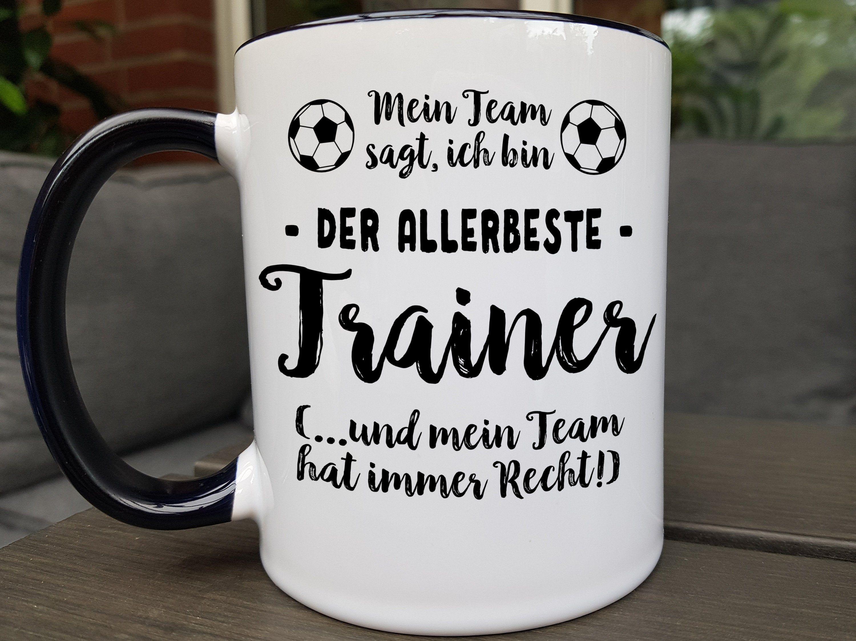 Trainer Geschenk Fussball Tasse Fussballtrainer Geschenke Etsy Fussballtrainer Geschenk Fur Fussballtrainer Fussball Spruche