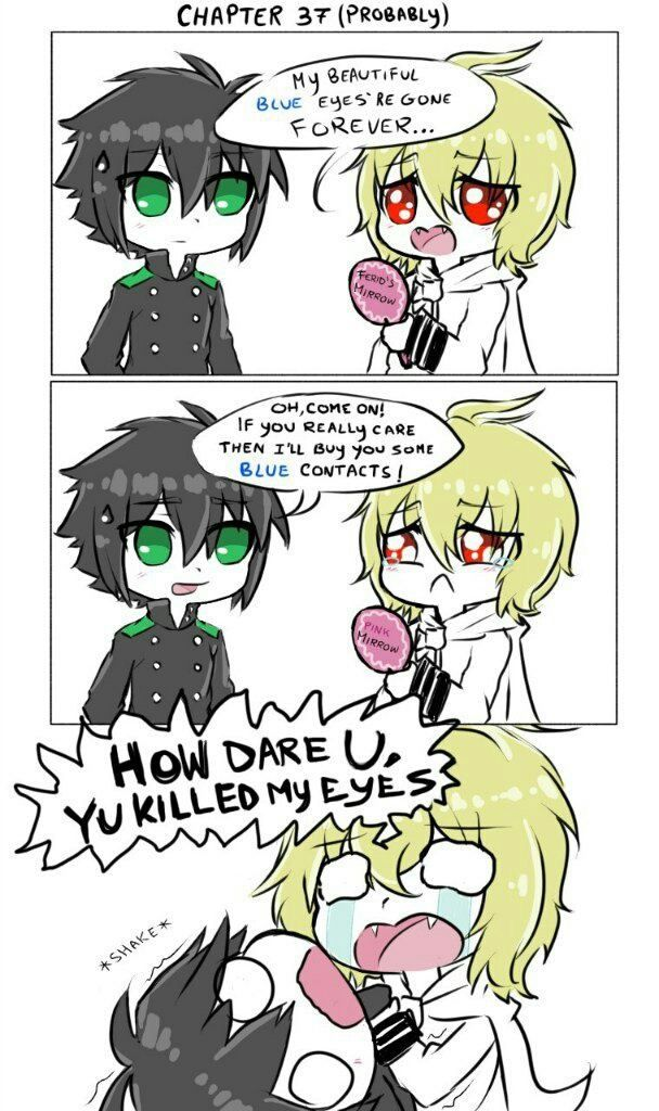 Pin by YoursTrulyLaura on Owari No Seraph Seraph of the