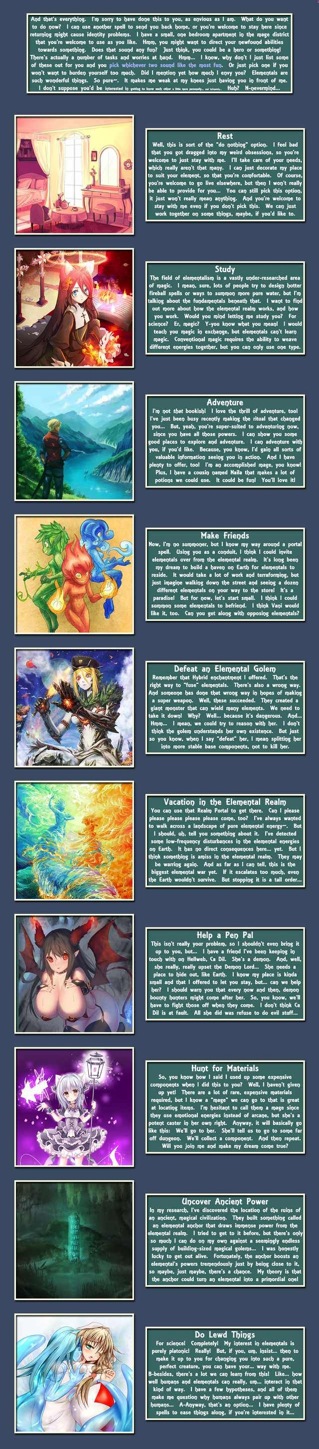 A New Elemental By Beri Cyoa Create Your Own Adventure Cyoa Games