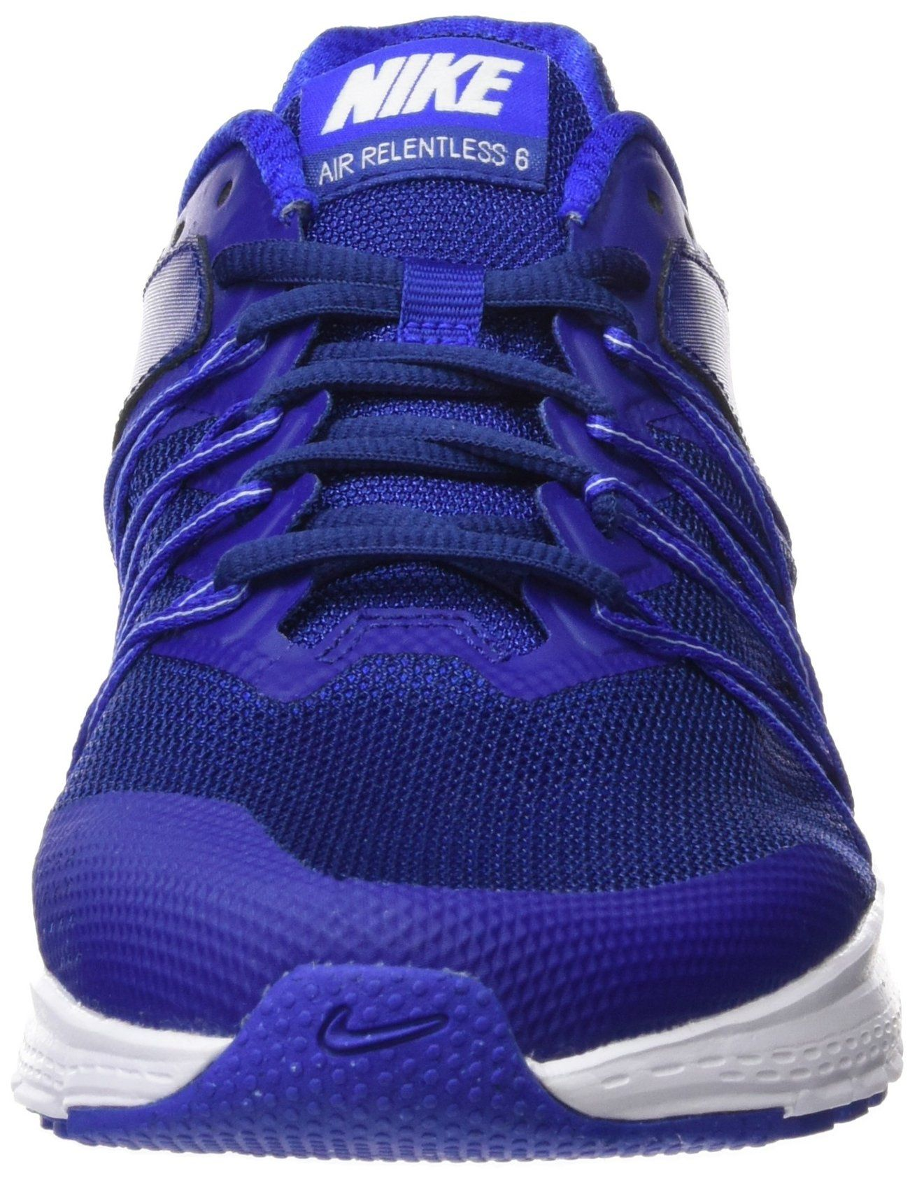 Soledad Porcentaje en términos de  Golf Shoes *** NIKE Air Relentless 6 Mens Running Trainers 843836 Sneakers  Shoes US 11 deep Royal Blue White 400… | Golf shoes mens, Mens running  trainers, Nike men