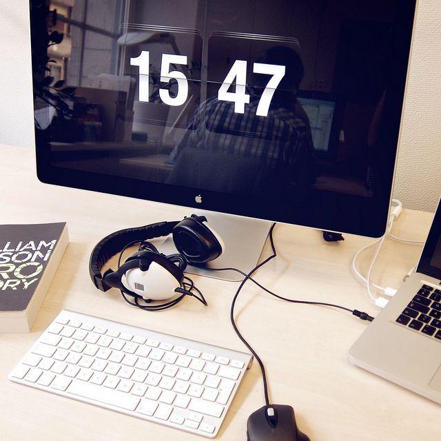Workspace by Peter Hellberg on Flickr.