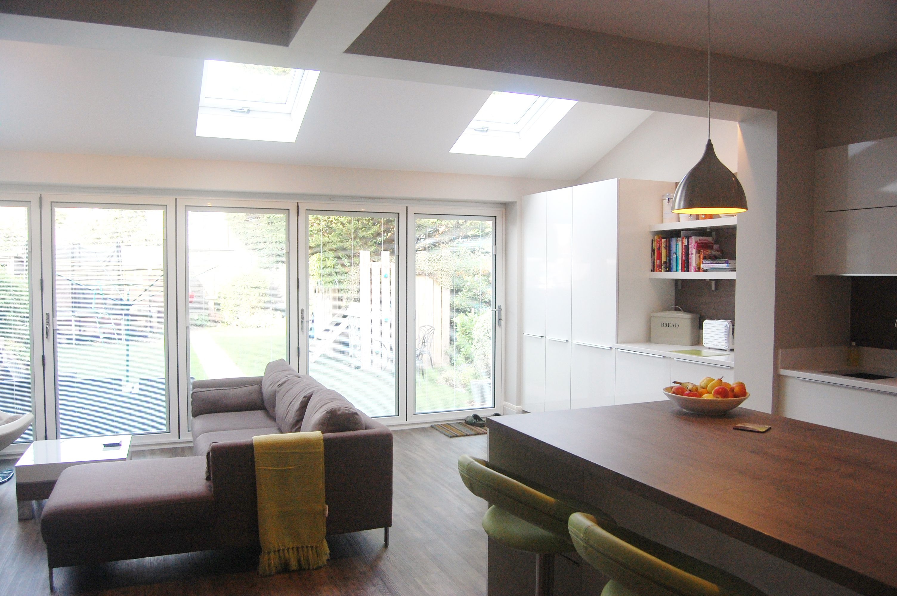 Semi Open Plan Kitchen Living Room. Open Kitchen Designs With Living ...