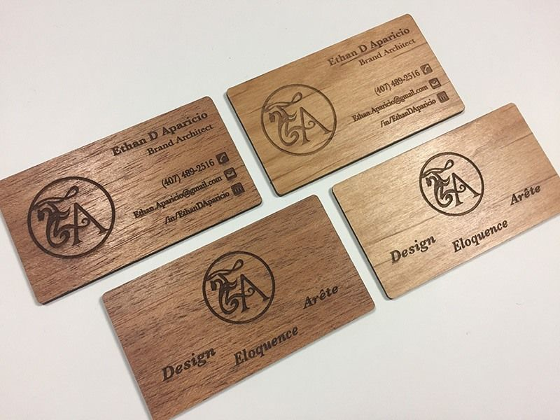 Wooden business cards that are laser engraved instead of printed wooden business cards that are laser engraved instead of printed colourmoves