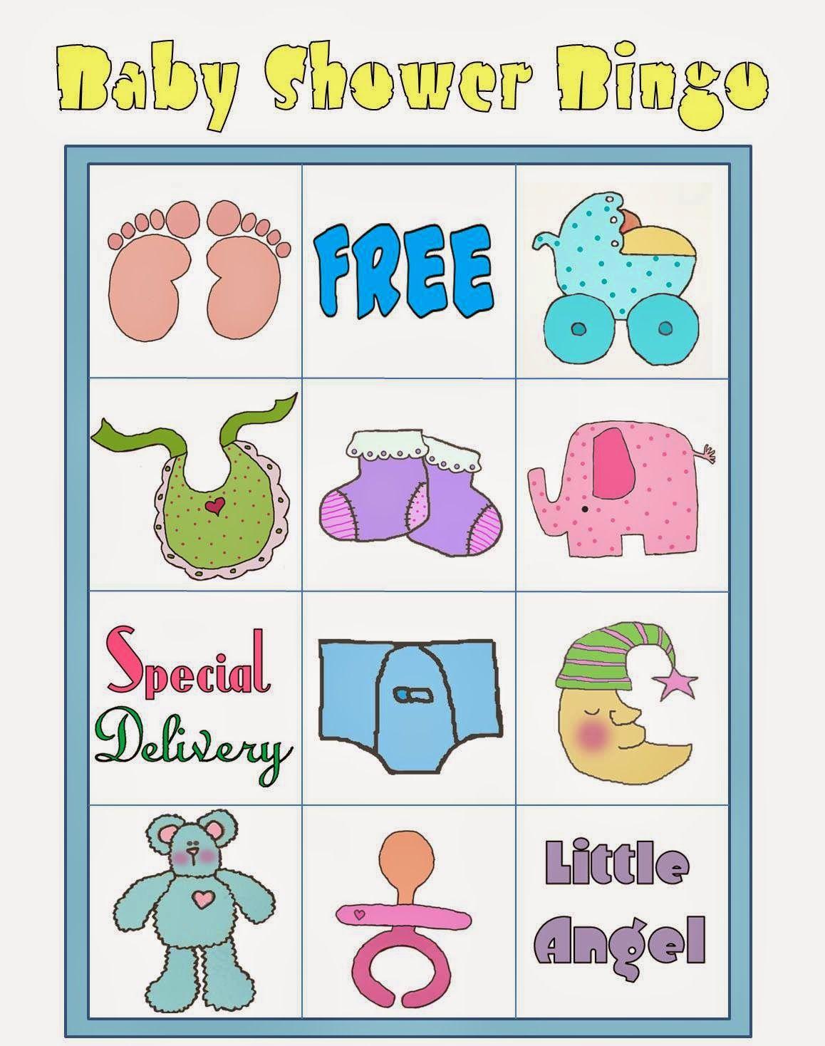 Bingo para Baby Shower para Imprimir Gratis. | baby | Pinterest ...