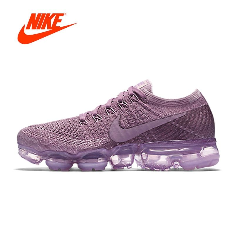 9b3a4310ba0ceb Original New Arrival Authentic Nike Air VaporMax Flyknit Women s Breathable  Running Shoes Sport Outdoor Sneakers 849557