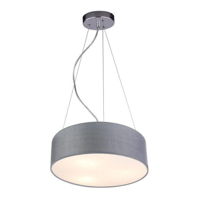 Lampa Wiszaca Kioto 3 X 40 W E27 Jasnoszara Lampy Wiszace Lampy Scienne I Sufitowe Lamp Pendant Lamp Ceiling Lights