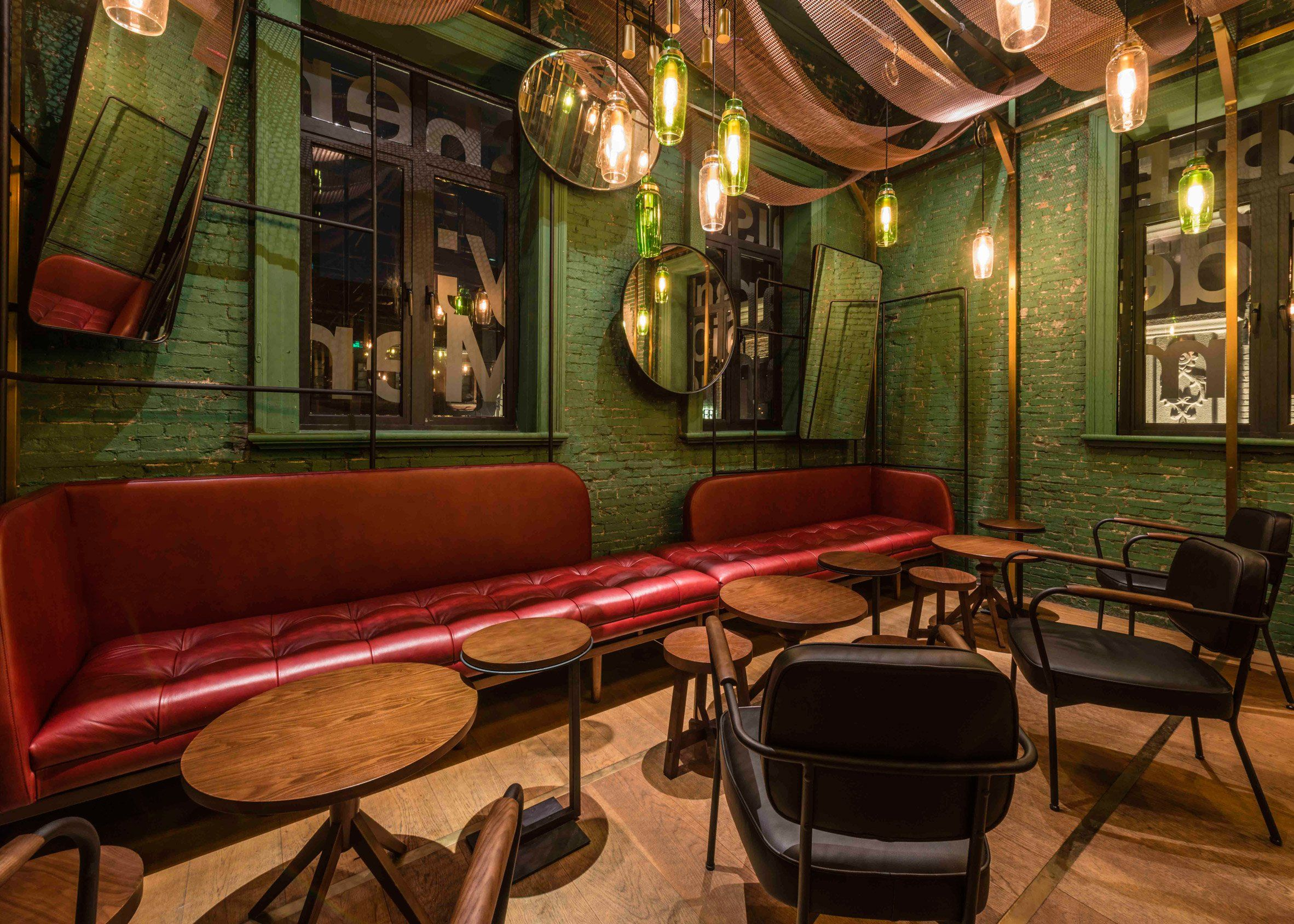 10 Of The Best Bar Interiors From Dezeen S Pinterest Boards Bar