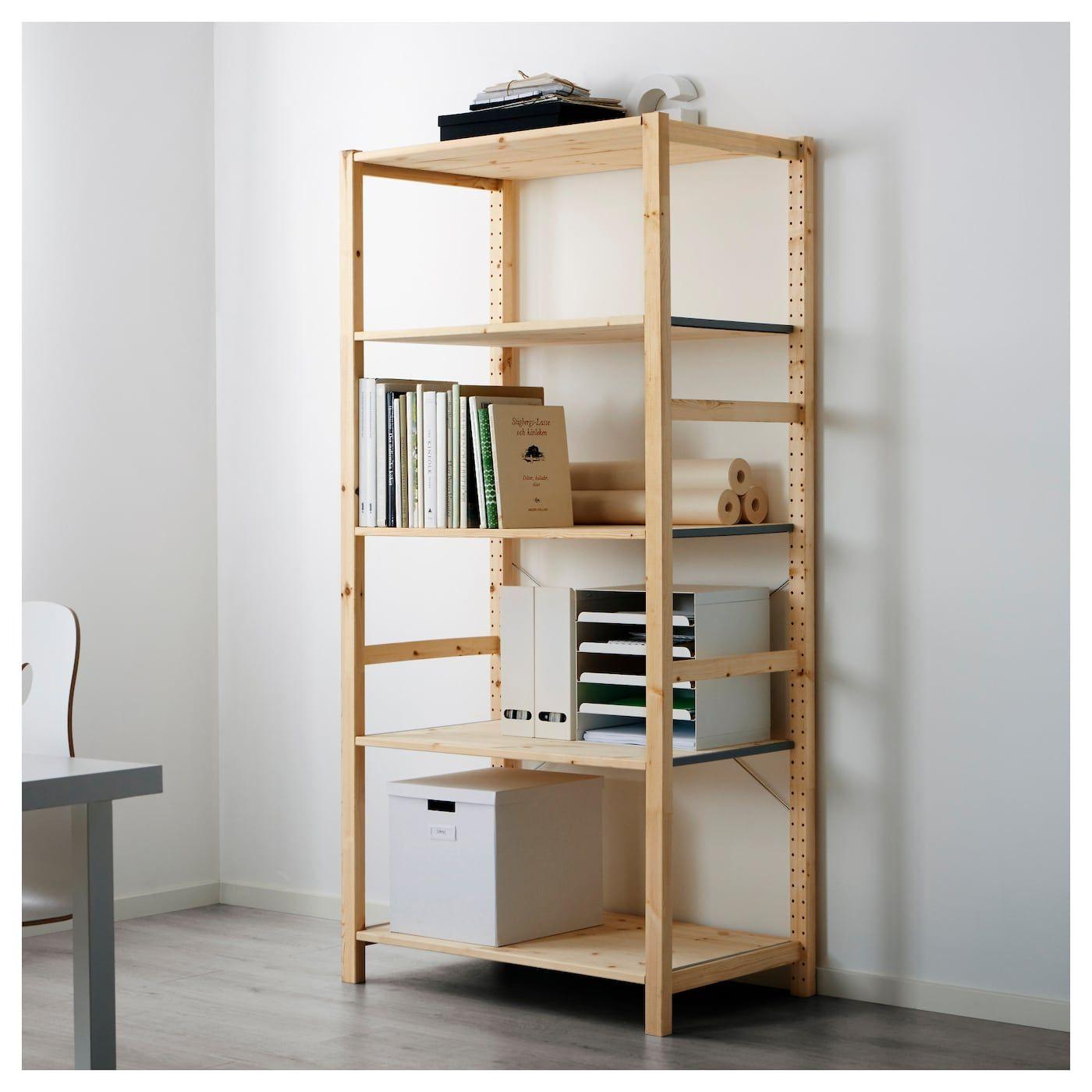 Us Furniture And Home Furnishings With Images Ikea Shelving Unit Ikea Ivar Shelving Unit