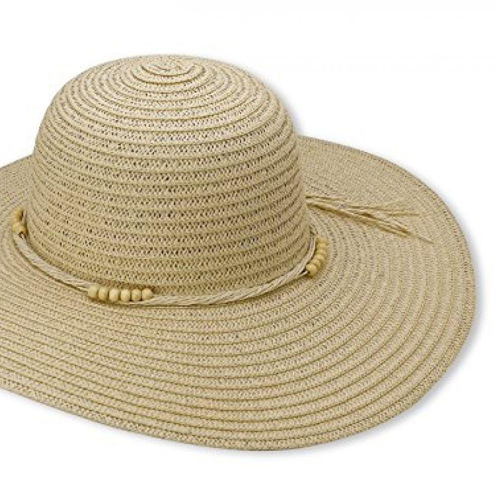 6ce5f86025ecbb Beach Straw Floppy Hat For Women By Debra Weitzner - Large, Wide Brim For  Excellent