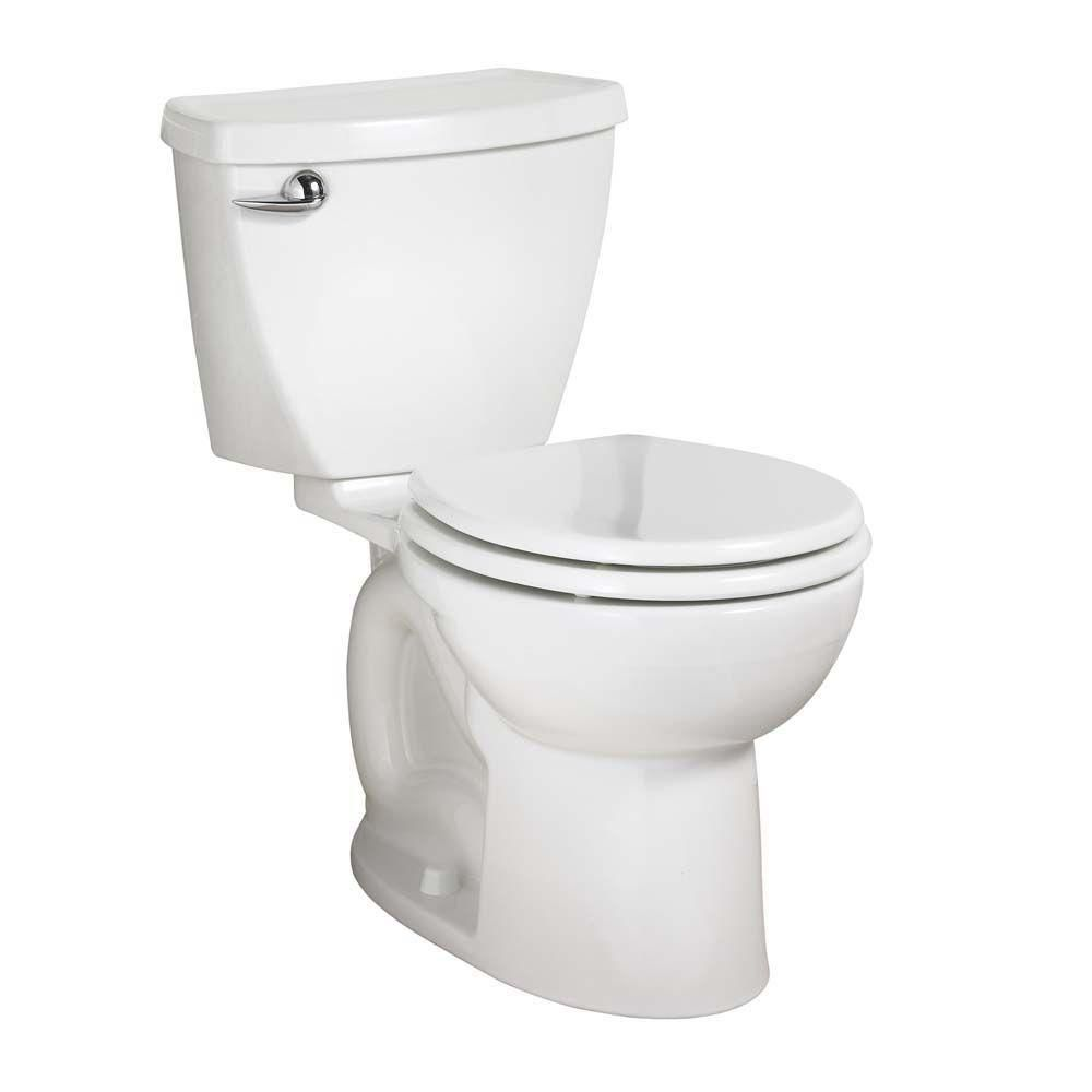 American Standard Cadet 3 Powerwash Tall Height 10 In Rough 2 Piece 1 6 Gpf Round Toilet In White 270bb001 020 The Home American Standard Toilet Toilet Tank