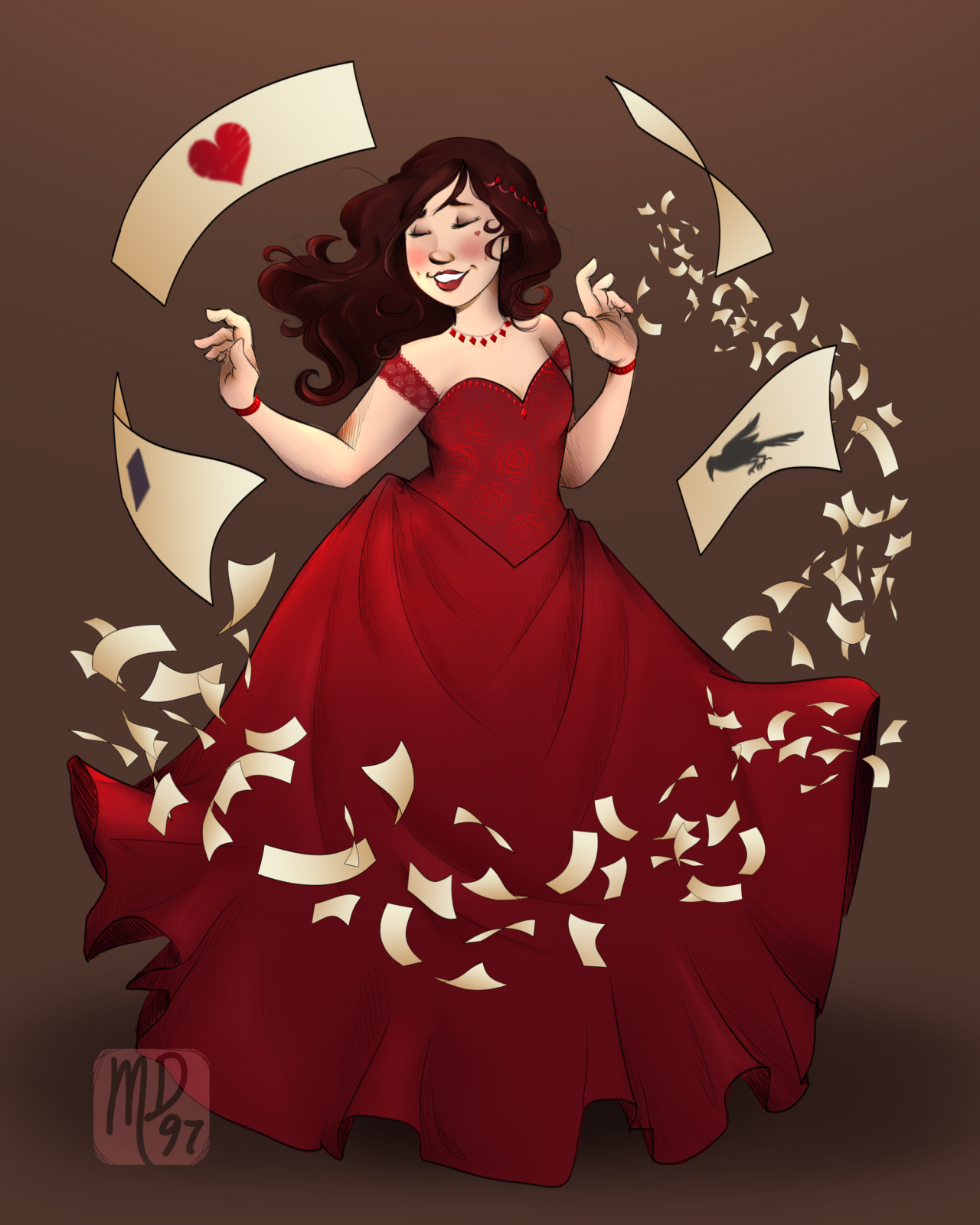 Catherine from Marissa Meyer's Heartless Not Lunar Chronicles, but It's the same author