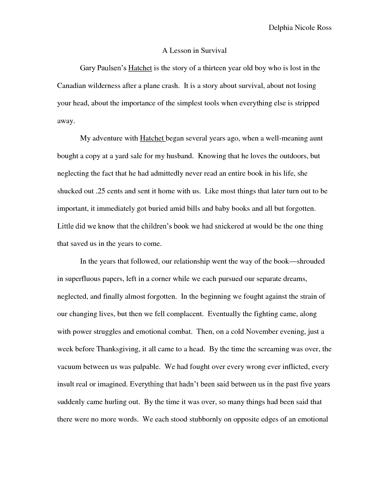 Worksheets Hatchet Worksheets hatchet gary paulsen book summary s is the story of a thirteen