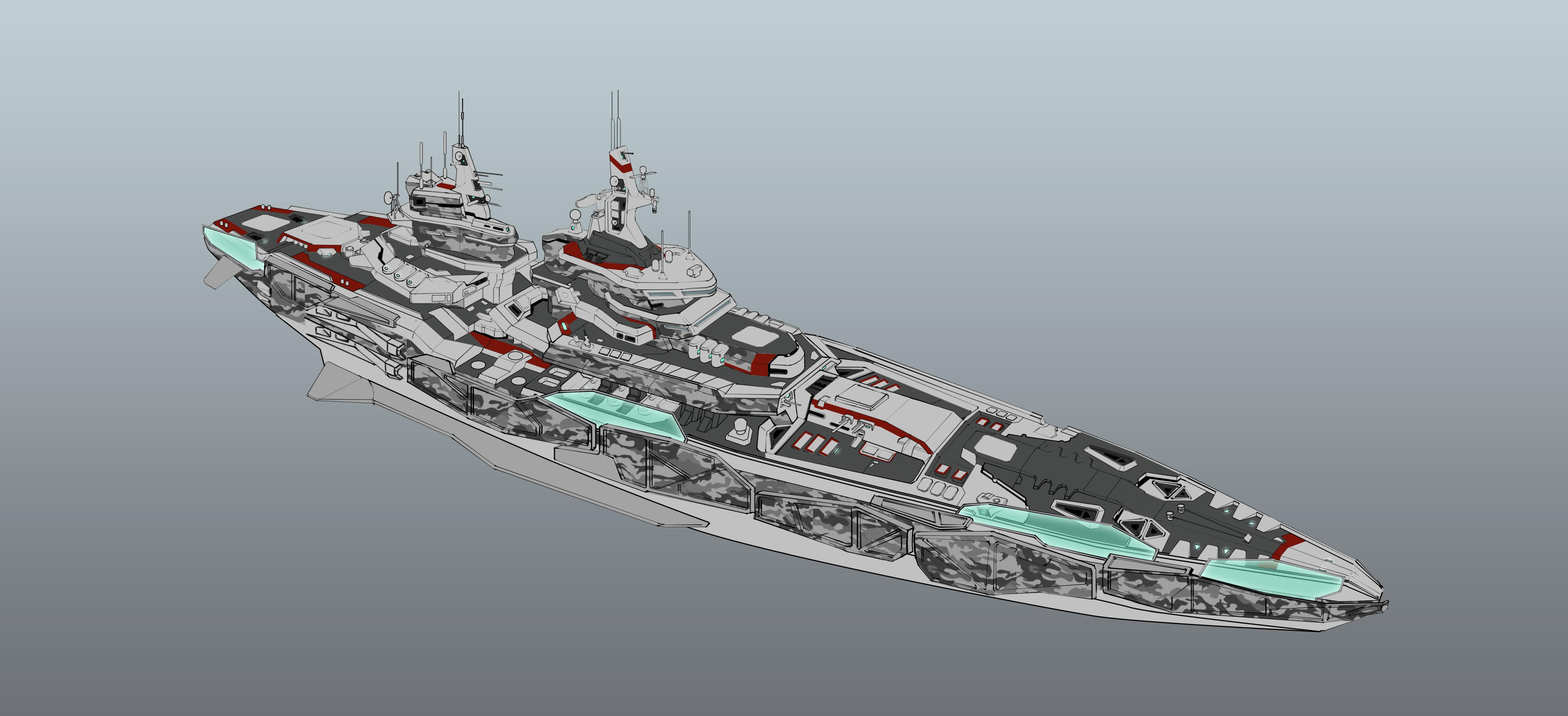 Battleship Leviathan by SDFleshmaster on DeviantArt in