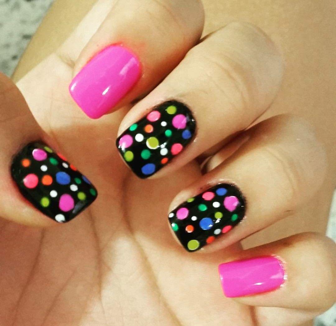 nails design glitter