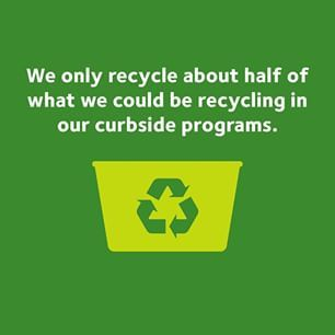 Tips from Waste Management: Recycle Often Recycle Right