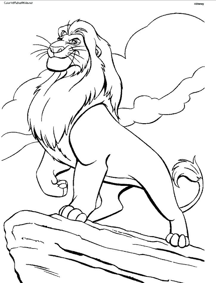Pin by Shreya Thakur on Free Coloring Pages | Pinterest | Lions
