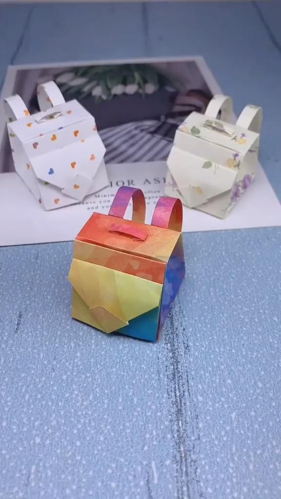 Photo of How to fold out the schoolbag with paper?