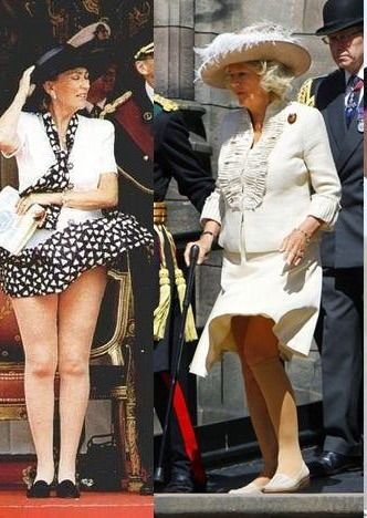 Queen Paola Of Belgium And Camilla Camilla Duchess Of Cornwall